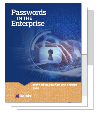 State of Password Use Report Thumbnail