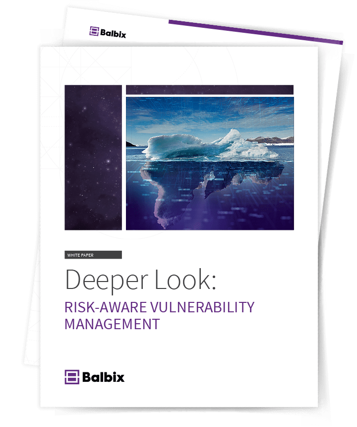 Whitepaper: Deeper Look into Risk-Based Vulnerability Management